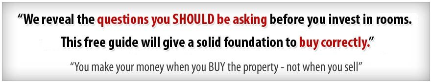 you make money in property when you buy, not when you sell