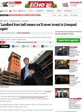 Liverpool student pod investment rip off