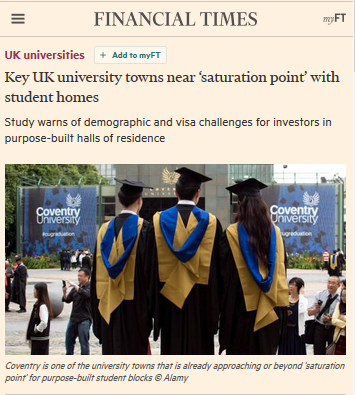 screenshot of FT article